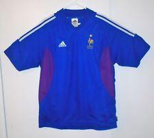 Adidas France National Team 2002/03 Home Soccer Jersey Shirt Mens XL