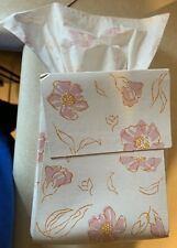 Vintage 1970s Hair Blonde Baby Kleenex Boutique Tissue Box W/ Cover Toilet Paper