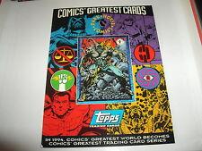 Topps Dark Horse Comics Oversize promo card