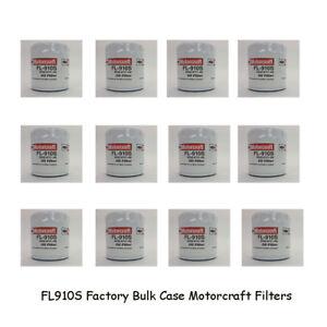 Motorcraft FL910S Oil Filters Case of 12 Bulk Pack