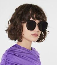 NIB  GENTLE MONSTER BIBI 01 SunGlasses Black