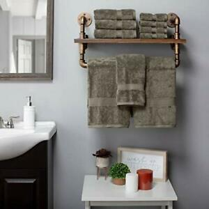 """SUPERIOR Egyptian Cotton Solid Towel Set Washcloths 13"""" x 13"""" Hand Towels 20""""..."""