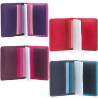 Visconti Women's Gift Boxed Leather Credit Card Holder RB44
