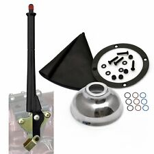 Ford 16� Black Transmission Mount E-Brake with Black Boot, Black Ring and Cap