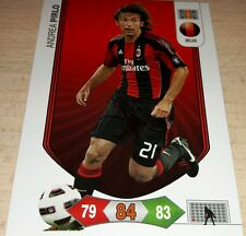 CARD ADRENALYN CALCIATORI PANINI MILAN PIRLO CALCIO FOOTBALL SOCCER