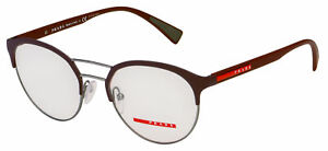 Prada Sport Eyeglasses PS 52HV VHP1O1 52 Burgundy Frame [52-19-140]