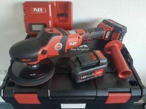 FLEX AKKU Polierer Poliermaschine PE 150 18.0-EC/5.0 Set 18V 5Ah 447153