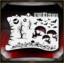 Boneyard 1 Airbrush Stencil Template Airsick