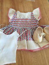 Vintage Pedigree Doll Clothes.