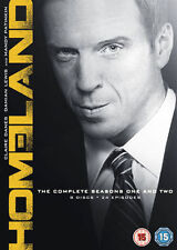 Homeland - Season 1-2 Box set (2013) Damian Lewis New SEALED