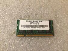 Memoria Sodimm DDR2 ASUS 04G001617652 1GB PC2-5300 667MHz CL5 200-Pin