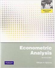 Econometric Analysis 7E by Greene and William H. Greene (2011, Softcover)