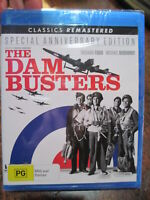 "Blu Ray THE DAM BUSTERS REMASTERED  and Bonus Doco ""617 Squadron Remembered"""