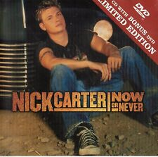 "NICK CARTER ""NOW OR NEVER"" RARE LIMITED EDITION CD+DVD SET / BACKSTREET BOYS"