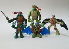 Teenage Mutant Ninja Turtles Action Figures 2006 2014 Playmates 2012 Viacom Lot