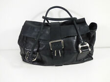 STRENESSE Damen Leder Handtasche in Schwarz Elegant    ( R 1184 )