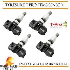 TPMS Sensores (4) Válvula de Presión de Neumáticos tyresure para Opel Astra J 4 puertas 11-14