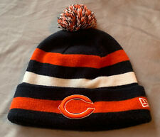 NFL Chicago Bears New Era Brand Striped Cuff Knit Hat
