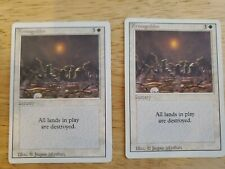 1x MTG Magic the Gathering - Armageddon - Revised Edition - Rare - MP (2 avail)