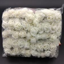 144Pcs 2cm Mini Foam Rose Artificial Flower Bouquet Wedding Decoration Scrapbook