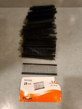 2500 Pc Black Clothing Label Price Tagging Barbs 25mm / 1""