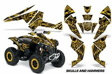AMR Racing CanAm Renegade500/800/1000 Graphic Kit Wrap Quad Decal ATV All HISH Y