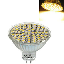 MR16 GU5,3 60 LED 3528 SMD 3W SPOT LIGHT BULB warm white 12V LW