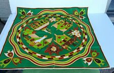 Colorful Bermuda Island Scenes Scarf by Smith's of Bermuda Va Mint Condition