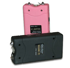 5.8 million volt Stun Zapper with built in Flashlight - Color - Pink