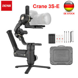 Zhiyun Kran 3S-E Kamera 3-Achsen Handheld Gimbal Stabilisator für Sony Canon
