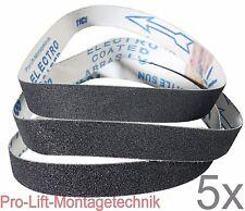Schleifband 15x : Körnung 60 ,80 ,120 für 20mm Breite ABS20BSJ , 02040 , 12345