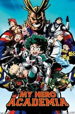 MY HERO ACADEMIA - CHARACTER COLLAGE POSTER - 22x34 - 18407