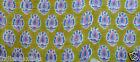 Craft Hand block Print Running 3 Yard Indian Loose Cotton Fabrics Printed Decor