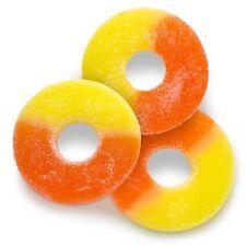 Albanese Gummi Peach Rings 4.5 Lb. Bag Always Fresh