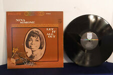 Nina Simone, Let It All Out, Philips Records PHS 600-202, Soul, Blues