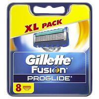 Gillette Fusion ProGlide Men's Razor Blades 8 Blades BRAND NEW FREE P&P