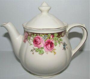 Royal Doulton English Rose D6071 Rare Small Size One Cup? Teapot T-Pot