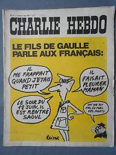 ►CHARLIE HEBDO N°31 - JUIN 1971 - REISER