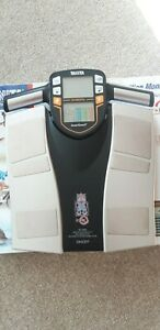 tanita segmental body composition analyser BC-545N muscle fat bone weight train