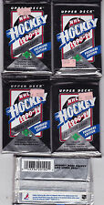 1990-1991 Upper Deck Hockey Cards 5-Pack Lot