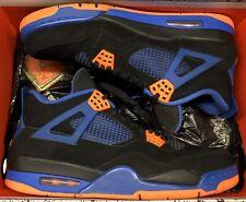 Jordan Retro IV 4 Cavs Black Safety Orange Game Royal Blue Bred Raptors XI Sz 10