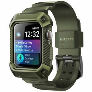 SUPCASE Rugged Case For Apple Watch Series 5/4/3/2/1 44/40/42/38mm + Strap Bands