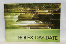 Rolex Day-Date Booklet Owners Instruction Manual Book English 592.06