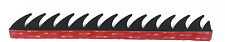 SAWBLADE RUBBER HELMET MOHAWK SPIKES BLACK RED BLUE GREEN ORANGE
