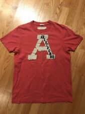 Abercrombie & Fitch Kids A&F New York Muscle T Shirt Pink Mens Size Small XL S