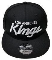 Los Angeles Kings New Era 9Fifty Basic Vintage Script Eazy-E NWA Snapback NHL