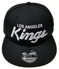 Los Angeles Kings New Era 9Fifty Basic Vintage Script Eazy-E NWA Snapback NHL
