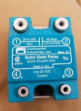 Solid state relay S505-0SJ440-005 40A 24-280VAC Continental Industries