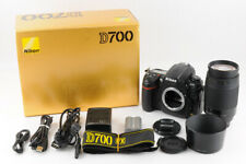 【Near Mint】NIKON D700 12.1MP +NIKON AF 70-300mm F/4-5.6G Lens in BOX From JAPAN