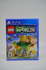 PS4 LEGO Worlds New & Factory Sealed Package